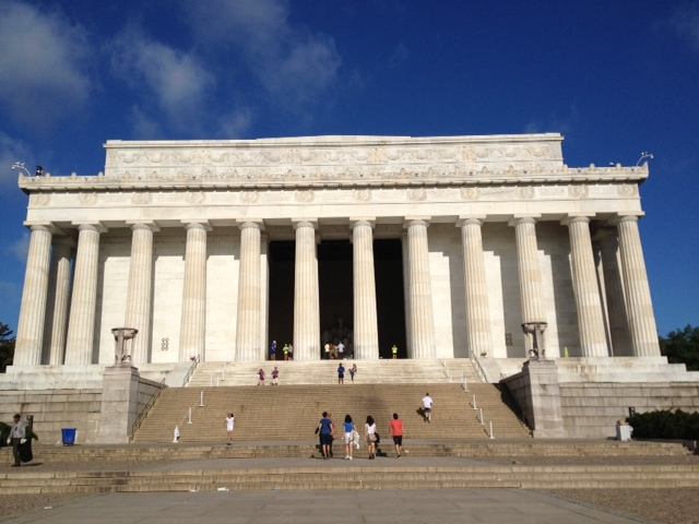 DC観光】 リンカーン記念堂と戦...